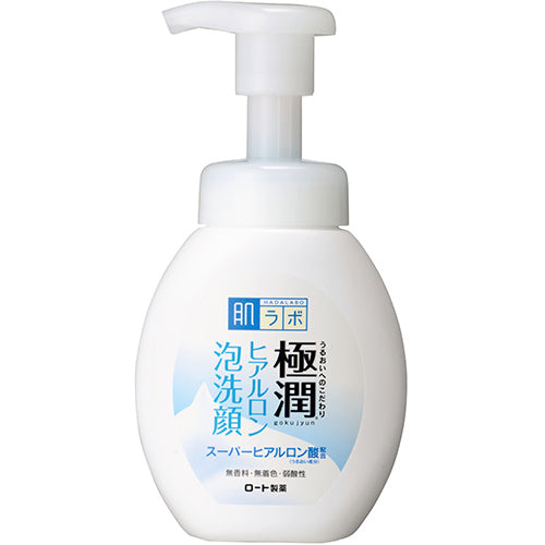 Hada Labo Hyaluronic Acid Foaming Cleanser Pump Type