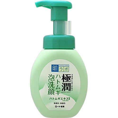 Hada Labo Gokujyun Hatomugi Pore Cleansing Face Wash 160ml