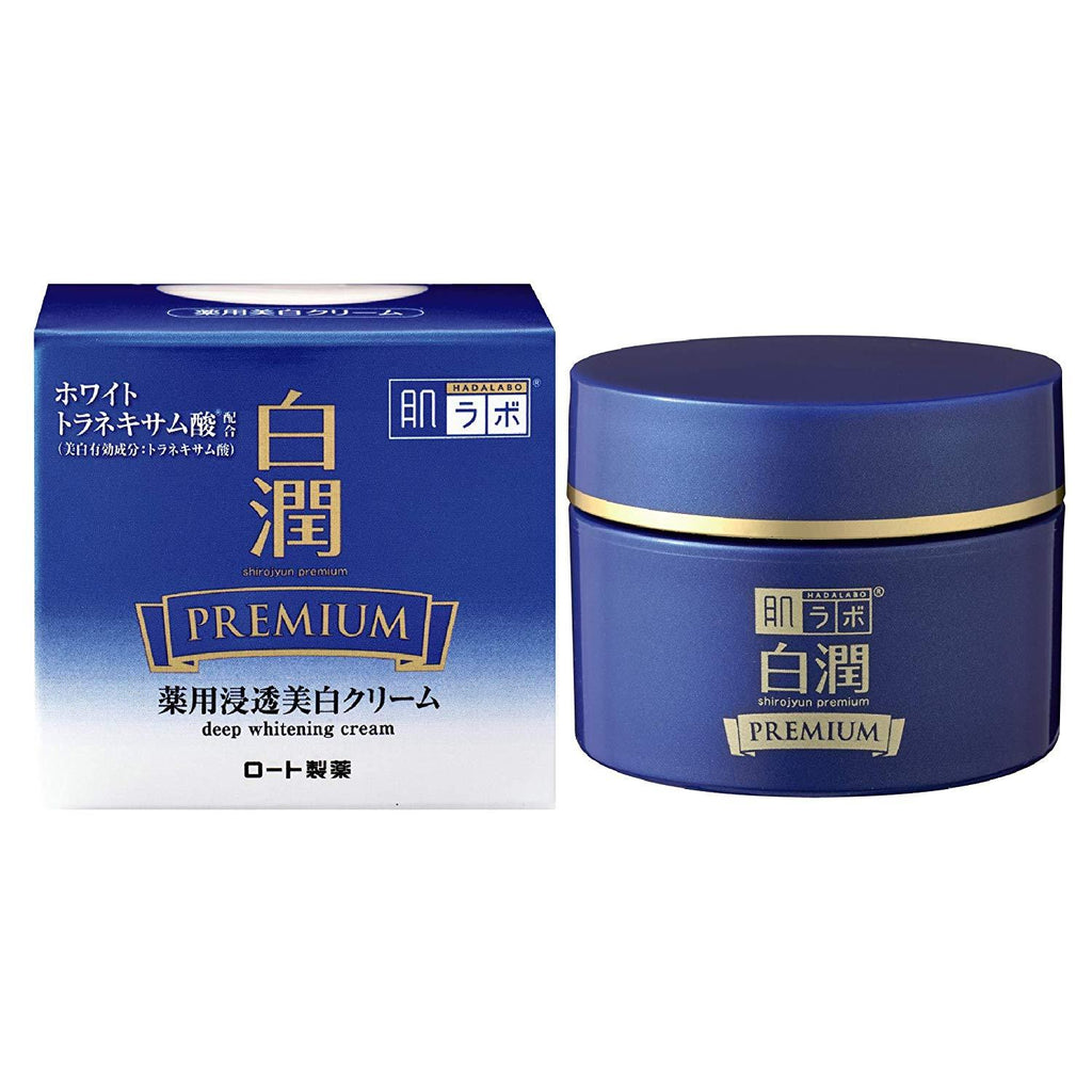 Hada Labo Shirojyun Premium Medicated Deep Whitening Cream 50g