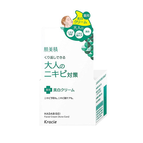 Hadabisei Adult Acne Countermeasure Whitening Cream 50g