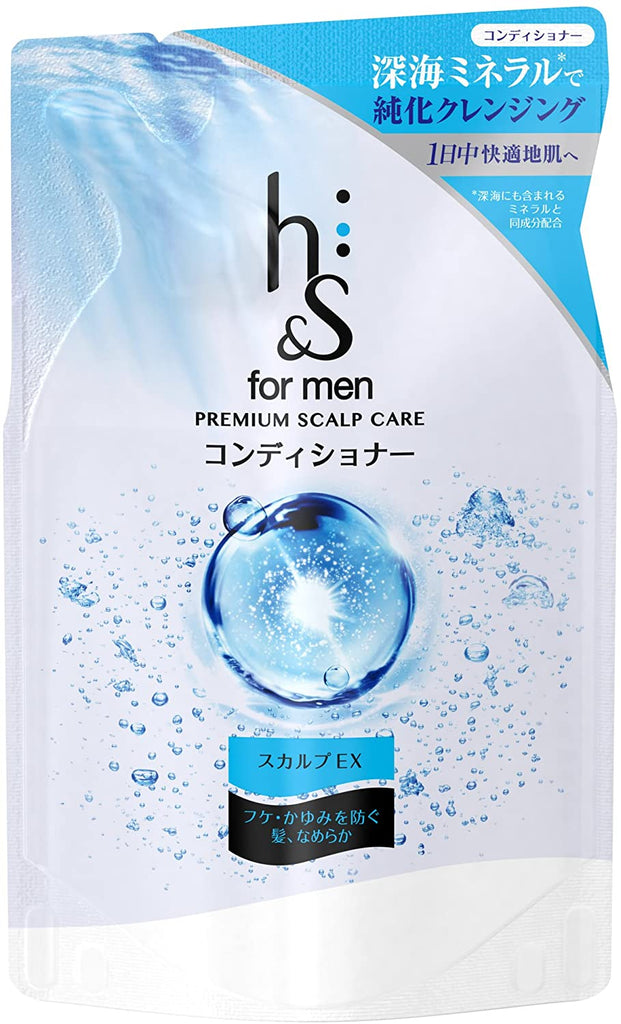 h&s for men Conditioner Premium Scalp Care Refill 300 g