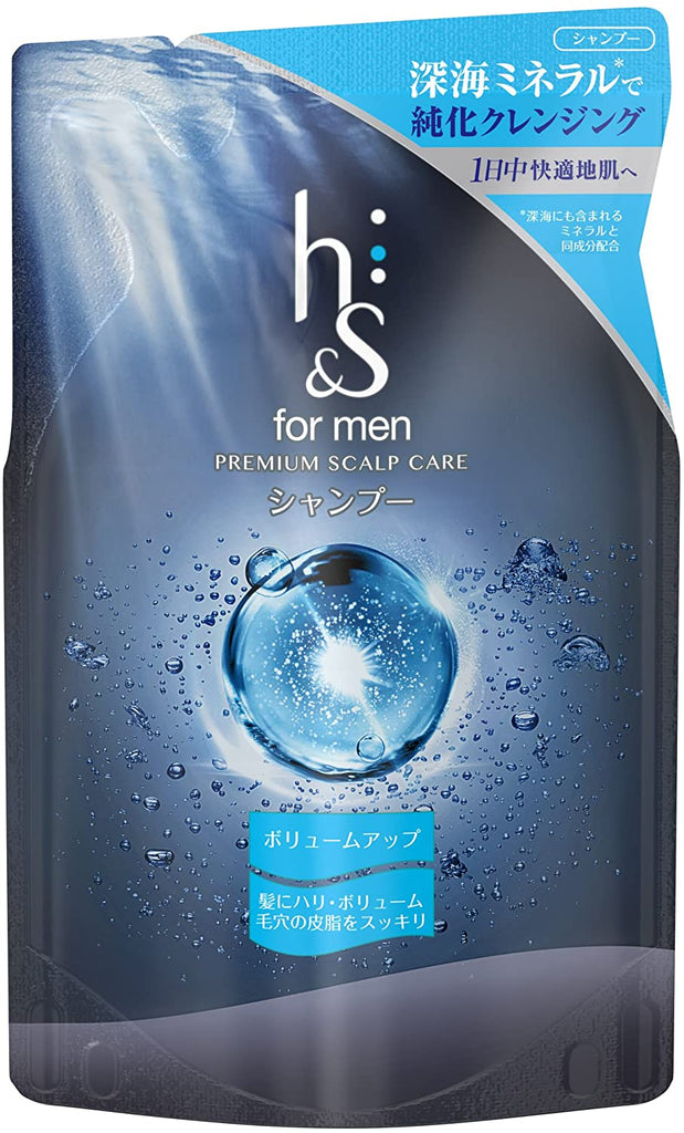 H&S for Men Volumizing Shampoo Refill Pouch