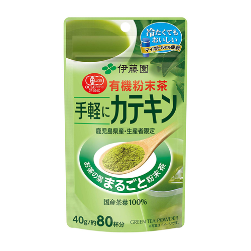 Itoen Organic Katekin Green Tea Powder 40g