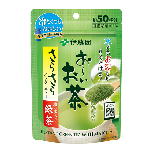 Itoen Oi Ocha Instant Green Tea With Matcha Powder 40g