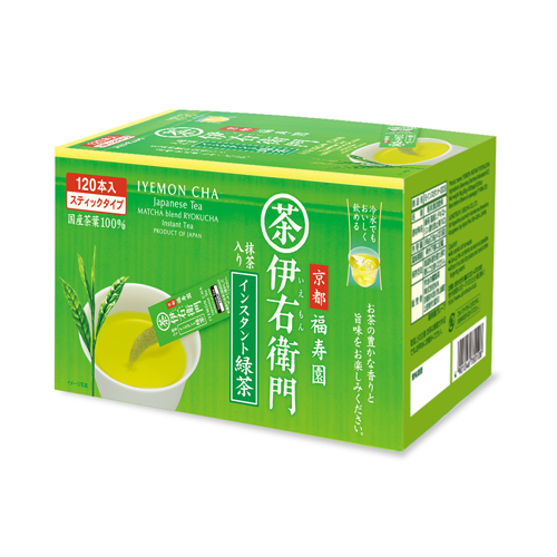 Iyemon Cha Instant Green Tea Stick 120 Sticks