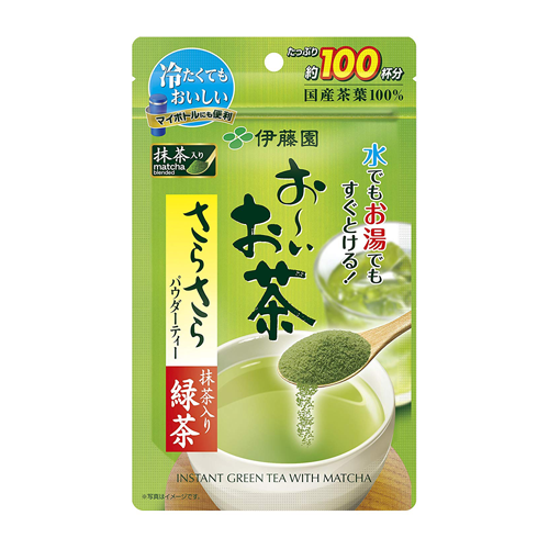 Itoen Oi Oicha Instant Green Tea With Matcha Powder 80g