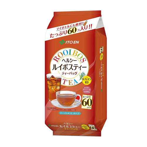 Itoen Healthy Rooibos Tea Bag Decaffeinated 60 Bags