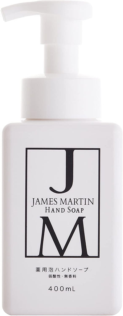 James Martin Medicated Foaming Hand Soap Unscented (400 ml)