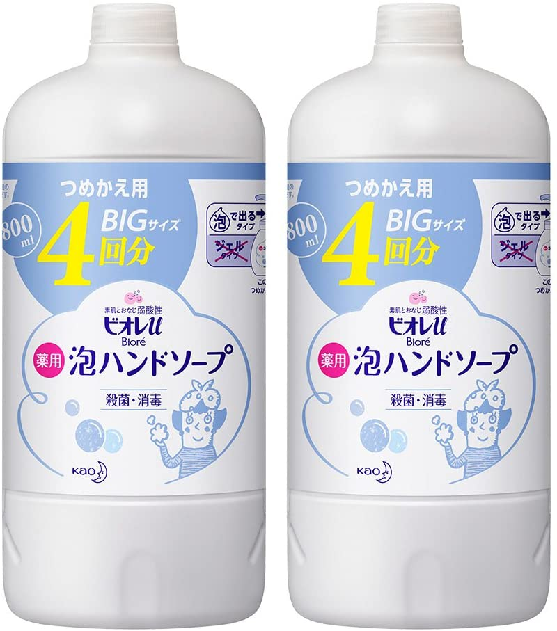 Bioré U Foaming Hand Soap (800 ml) Refill