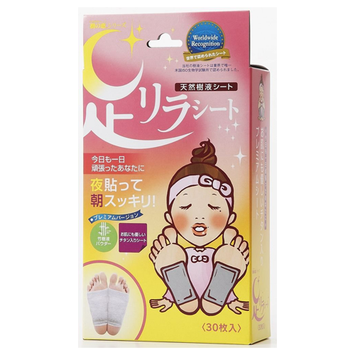 Kinomegumi Ashi Rira Foot Patch Normal Titanium Tape