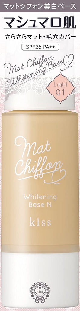 Kiss Mat Chiffon UV Whitening Base 37 g