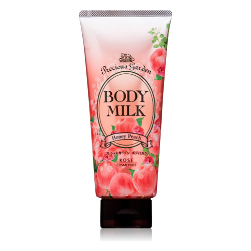 Kose Precious Garden Body Milk Honey Peach 200g