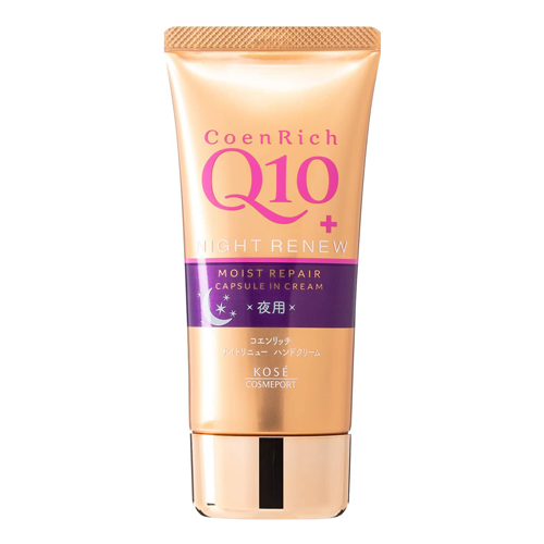 Kose Coen Rich Q10 Night Renew Hand Cream 80g