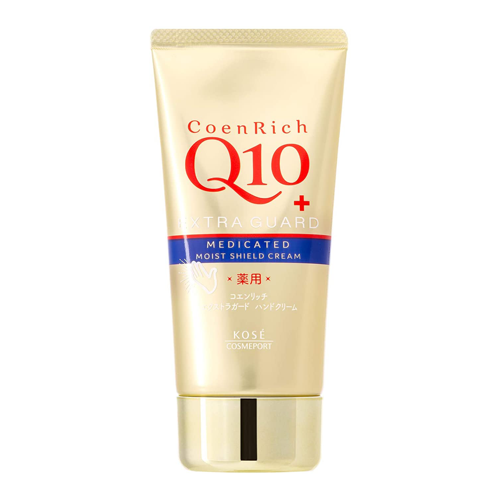 Kose Coen Rich Q10 Extra Guard Medicated Hand Cream 80g