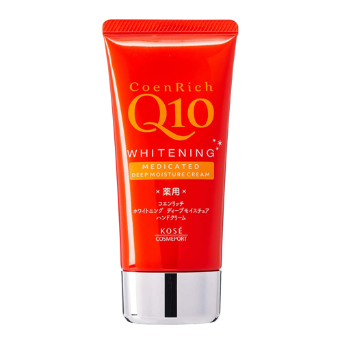 Kose Coen Rich Q10 Whitening Medicated Deep Moisture Hand Cream 80g