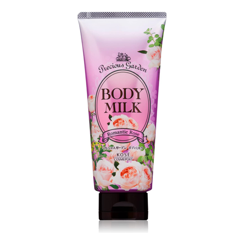 Kose Precious Garden Body Milk Romantic Rose 200g