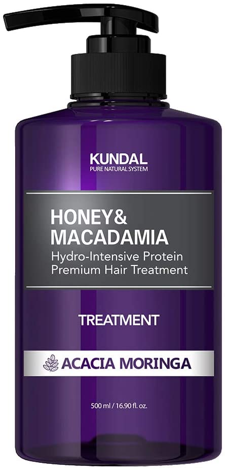 KUNDAL Honey & Macadamia Hydro-Intensive Protein Premium Hair Treatment 500 ml