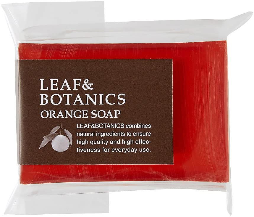 Leaf & Botanics Orange Soap