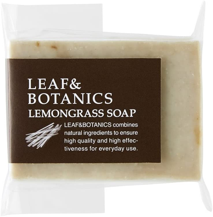 Leaf & Botanics Lemongrass Soap 100 g