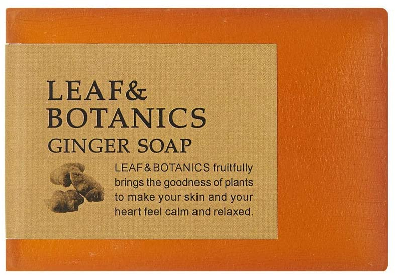 Leaf & Botanics Ginger Soap 90 g