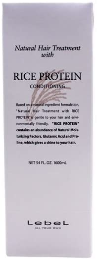 LebeL Natural Hair Treatment with Rice Protein Conditioning Refill 1600 ml