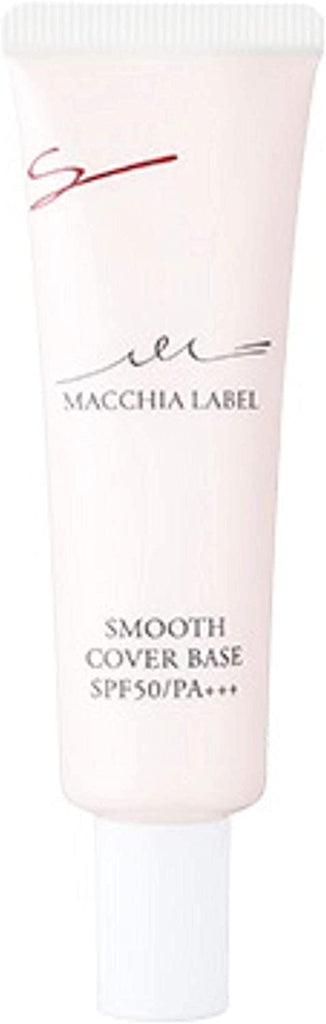 Macchia Label Cosmetics Foundation Pores Cover Color Uneven Moisturizing Smooth Cover Base a SPF 50 / PA ++++