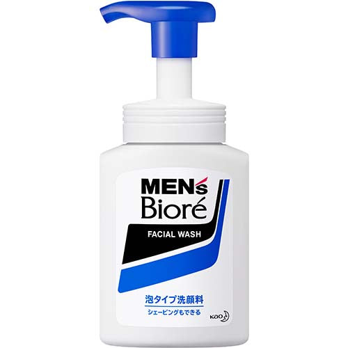 Men's Biore Foam Type Face Wash
