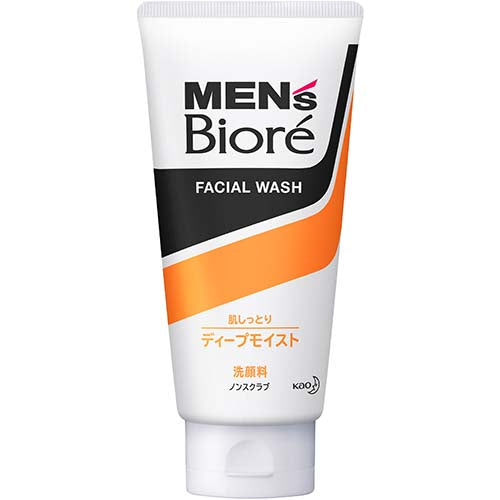Men's Biore Deep Moist Face Wash