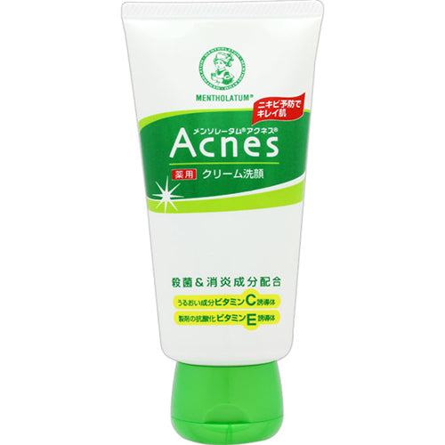 Mentholatum Acnes Medictaed Cream Face Wash