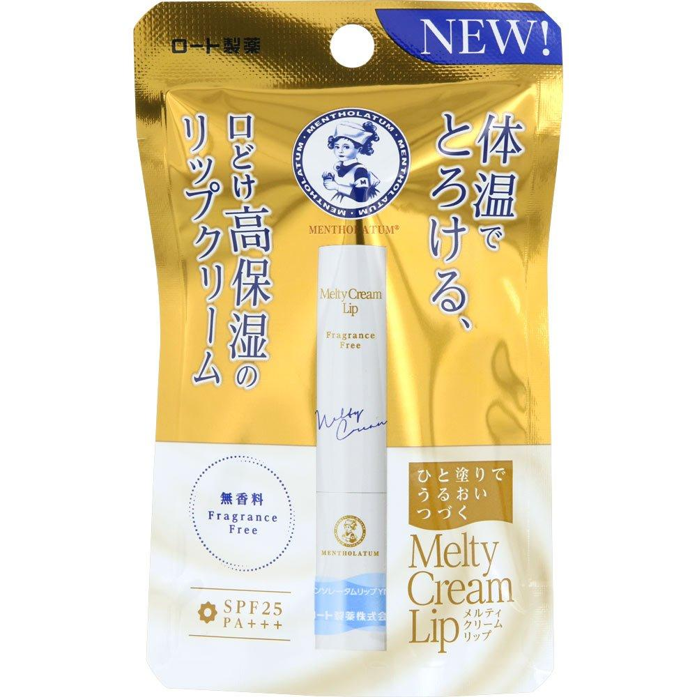 Mentholatum Melty Crem Lip Unscented 2.4g