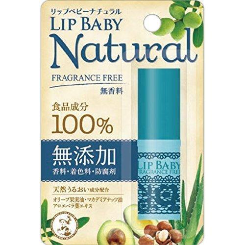 Mentholatum Lip Baby Natural Unscented 4g