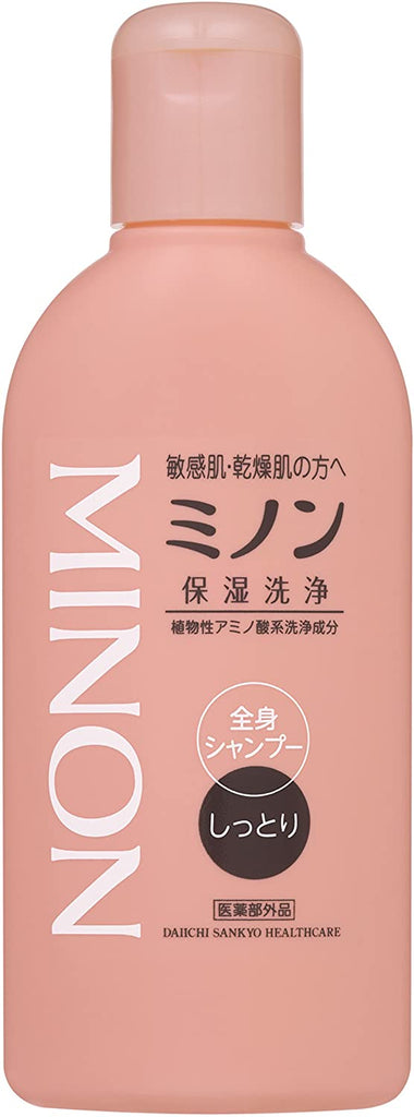 Minon Full Body Shampoo Moisturizing Type 120 ml