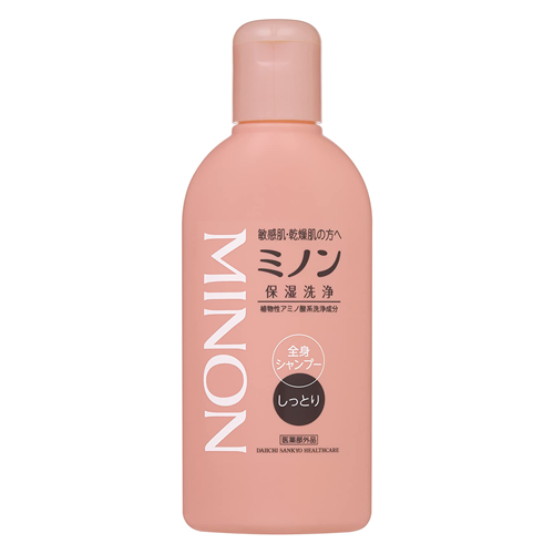 Minon Whole Body Shampoo Moist Type 120ml