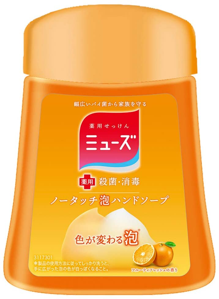 Muse No Touch Foaming Hand Soap Refill Fruity Fresh Scent (250 ml)