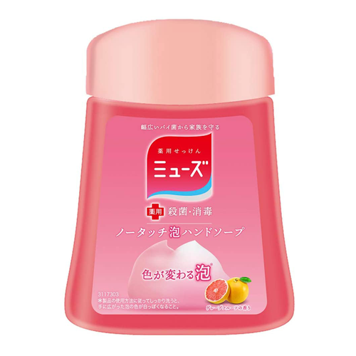 Muse No Touch Foaming Hand Soap Grapefruit Scent Refill 250ml