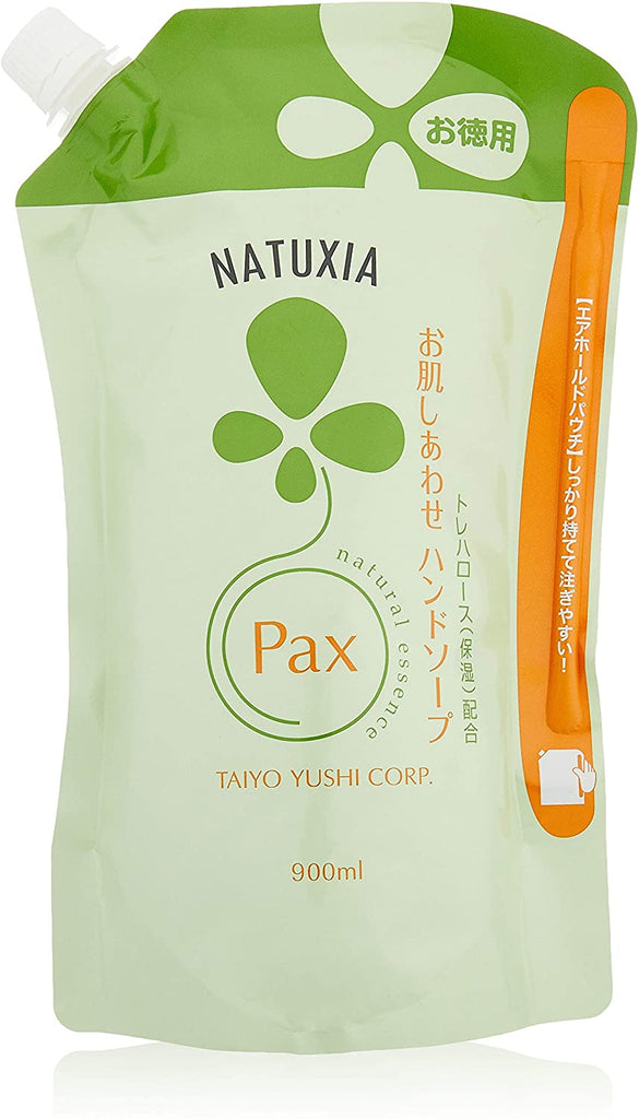 NATUXIA Pax Skin Rejuvenation Hand Soap Large Capacity (900 ml)