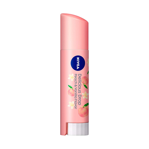 Nivea Flavor Lip Deliciour Drop Peach 3.5g