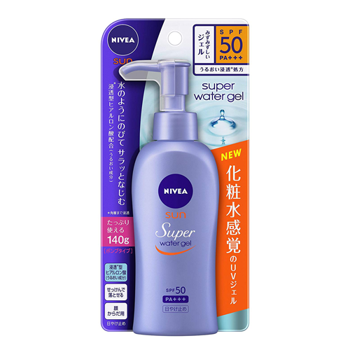 Nivea Sun Protect Water Gel SPF50/PA+++ Pump Type