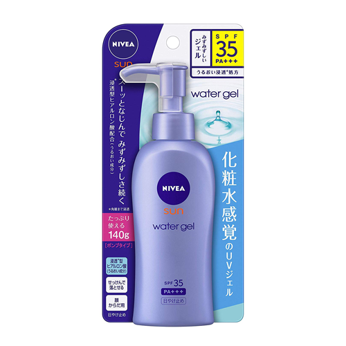 Nivea Sun Protect Water Gel SPF35/PA+++ Pump Type