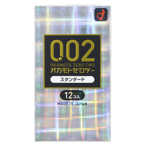 Okamoto Zero Two 0.02ml Standard 12 Pieces