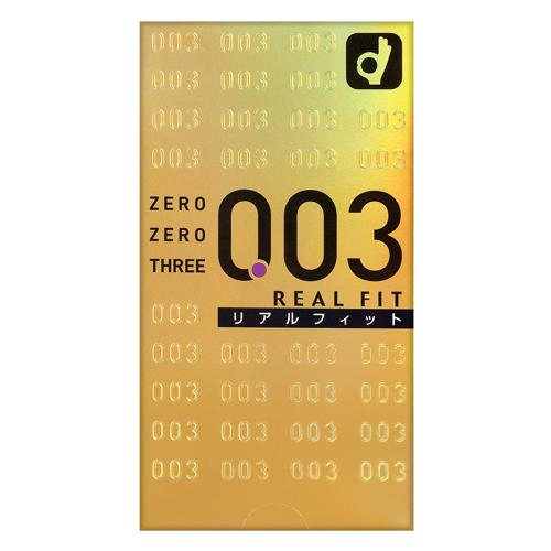 Okamoto Zero Zero Three 0.03ml Real Fit 10 Pieces