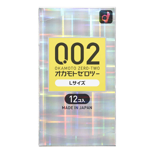 Okamoto Zero Two 0.02ml L Size 12 Pieces