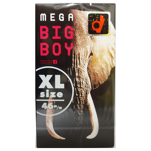 Okamoto mega BIG BOY Condoms 12 Pieces