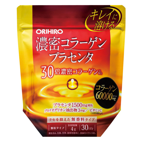 Orihiro Concentrated Collagen Placenta 120g
