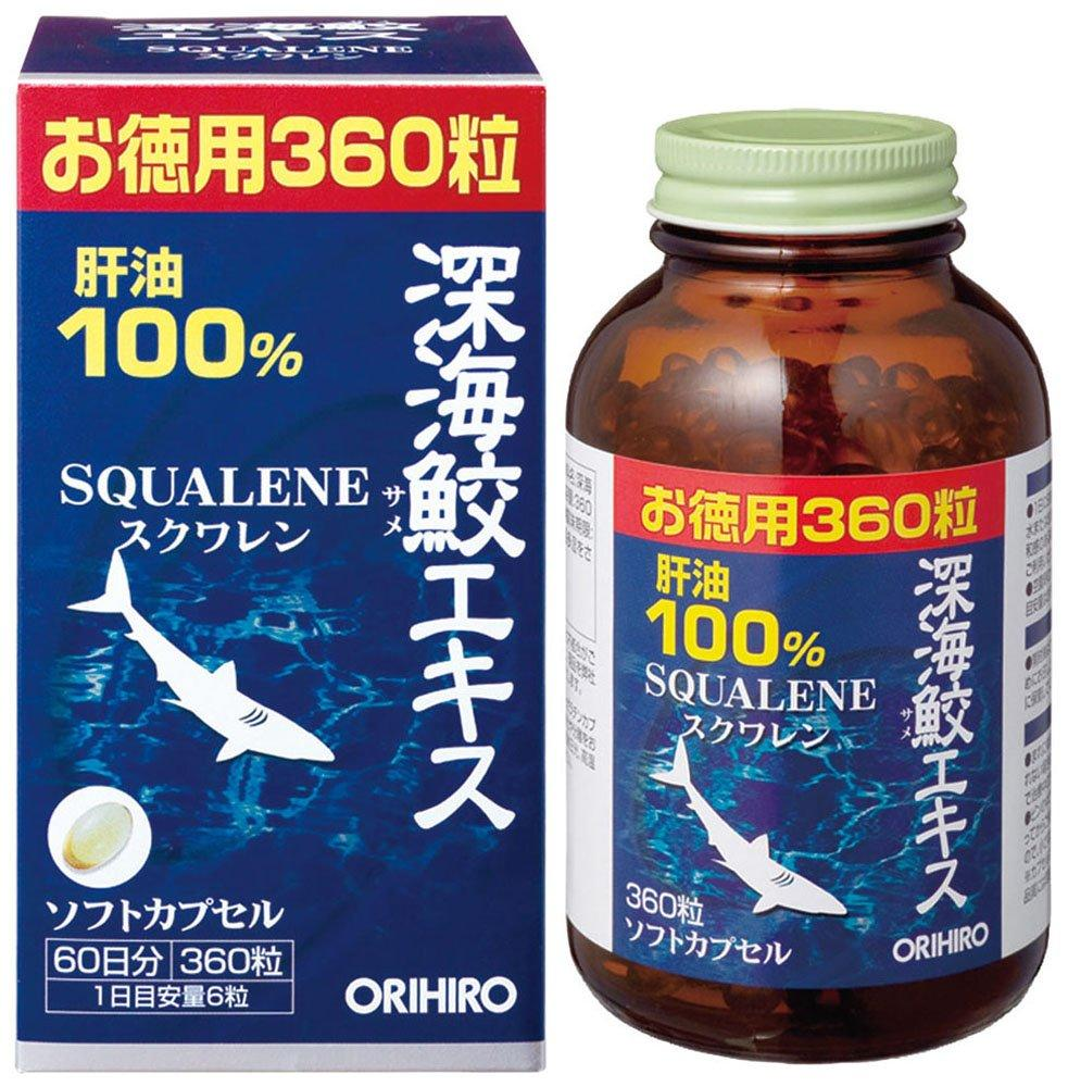 Orihiro Deep Sea Shark Extract 360 Tablets