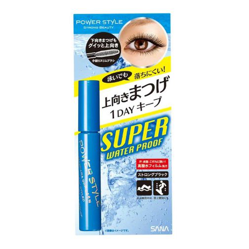 Power Style Mascara Super Waterproof Curl and Separate Strong Black
