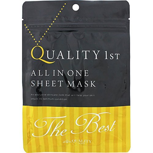 Quality First All-in-one The Best Face Mask 3 Sheets
