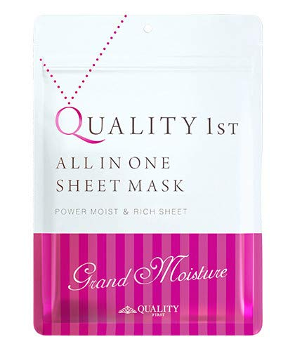 Quality First All-in-one Grand Moist Face Mask 7 Sheets