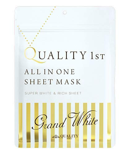 Quality First All-in-one Grand White Face Mask 7 Pack