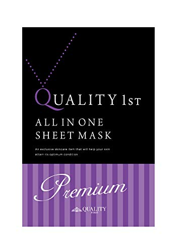 Quality First All-in-one Premium Ex Face Mask 3 Sheets